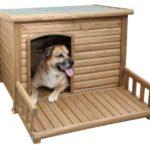 Kerbl Hundehütte mit Terrasse