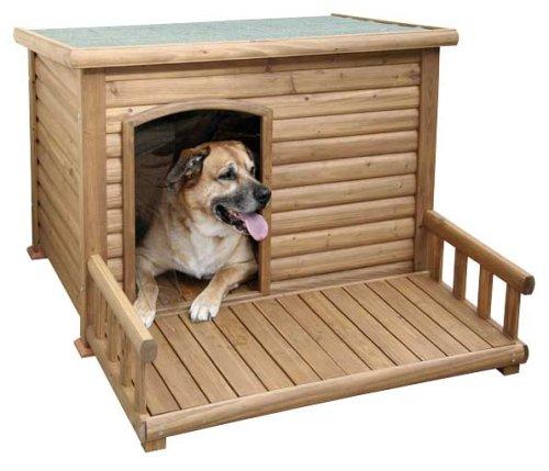 Kerbl Hundehütte mit Terasse Test
